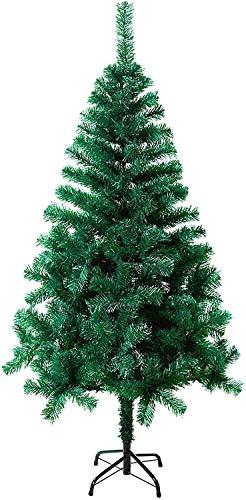 MCTECH Festive Künstlicher Weihnachtsbaum mit Ständer Andere Größe- Farbe: Grün PVC Dekobaum (210CM)