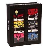 Mighty Morphin Power Rangers Megazord Character Crew Socks 6-Pack