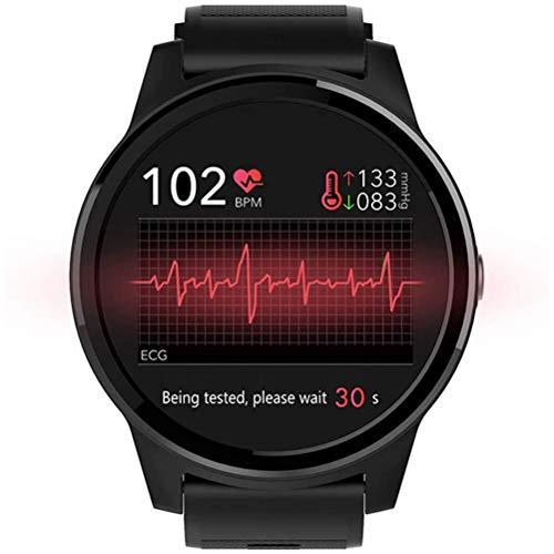 H/L Smartwatch, EKG Gesundheit Multi-Sport-Modus Smart-Uhr Mit Herzfrequenzblutdruck EKG-Untersuchungsfunktion Unterstützung Mehrerer Sprachen Und Voll Kompatibel
