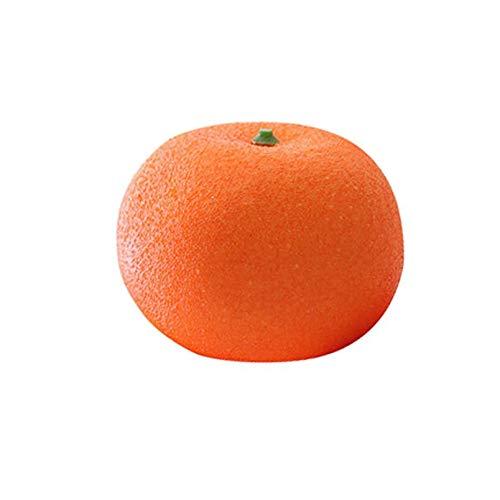 LINMAN Fake Fruit Decoration Kitchen House Artificial Orange Squeeze Kawaii Big Fruit Presión Relevante Niño Niños Juguetes Regalos de Nacimiento (Color : 1pc)