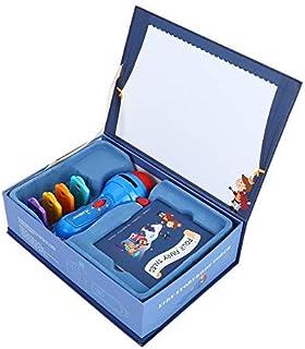 Macchina per apprendimento con Torcia per Cartoni Animati HD Luce Giocattolo per proiettore per leducazione precoce Videoproiettore per Bambini con Piccola Torcia MANGGUO Baby Mini Story Machine