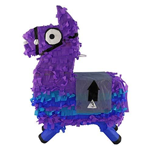 LYTIO Loot Llama Pinata Perfect for Gaming Themed Parties, Photo Prop, Piñata Game and Décor
