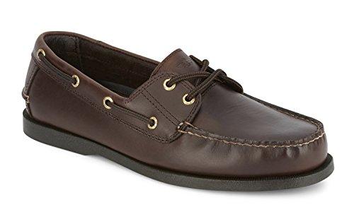 Dockers Men's Vargas Leather Handsewn Boat Shoe,Raisin, 12 M US