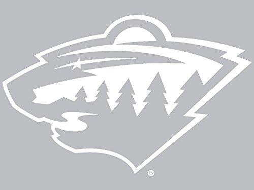 WinCraft NHL Minnesota Wild WCR29630061 Perfect Cut Decals, 8' x 8'