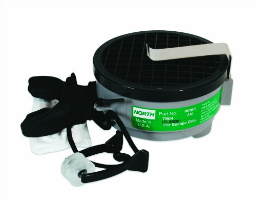 Emergency Escape Mouthbit Respirator Complete for Ammonia, Universal Size