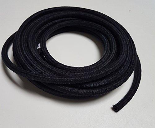 VE-Professional Kraftstoffschlauch Textilgewebe Benzinschlauch Dieselschlauch Gewebe (ID 6mm x AD 11mm)