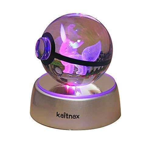 3d Crystal Ball Lamp Laser Engravin…