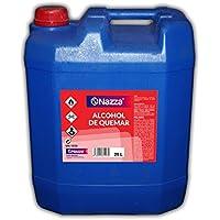 Alcohol de Quemar   Enérgica acción desengrasante   Combustible para el encendido de barbacoas y chimeneas   Envase de Plástico de 25 Litros