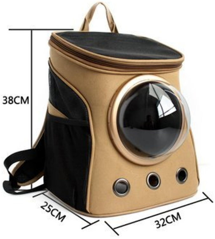 Pet supplies canvas capsule Breathable Bubble Capsule Pet Backpack Pet Carrier Outside Travel Bag Portable Bag Cat Bags