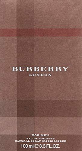 Burberry London Eau De Toilette for Men, 3.3 Fl Oz