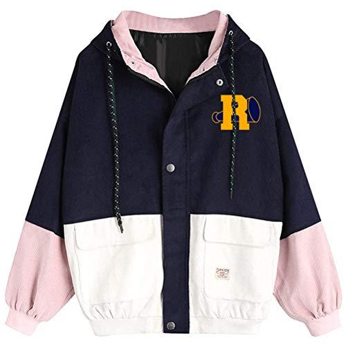 Riverdale Pullover Moda con capucha clásica guarda informal suéter caliente Luz elegante...