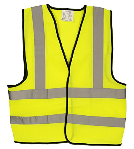 AA High Visibility Vest for safety and emergencies - Yellow