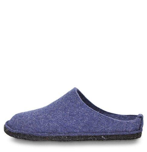 Haflinger Flair Soft, Zapatillas De Estar Por Casa Unisex adulto, Azul (Blau/Jeans), 50 Eu