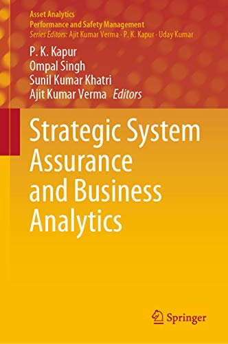 Strategic System Assurance and Business Analytics (Asset Analytics) (English Edition)