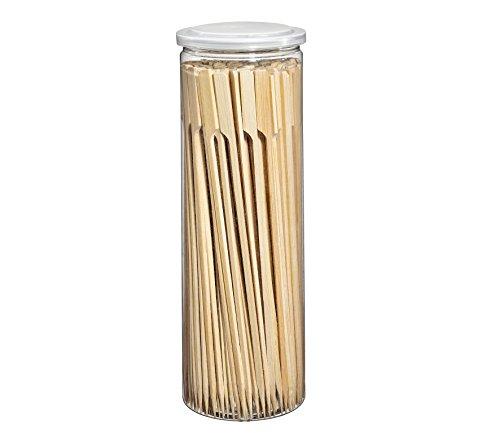 Küchenprofi BBQ Schaschlikspieße Bambus 23 x 0,4 x 0,3 cm, Grillspieße, Bambusspieße, 150 Stück