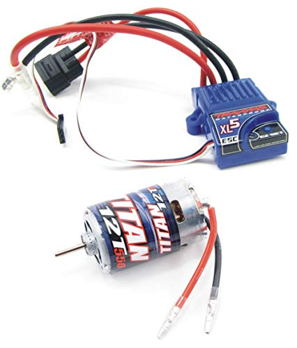 TRAXXAS ESC XL-5 Waterproof FWD/REV ESC with Low Voltage Detection (LVD) GOOD FOR MANY TRAXXAS CAR AND TRUCKS