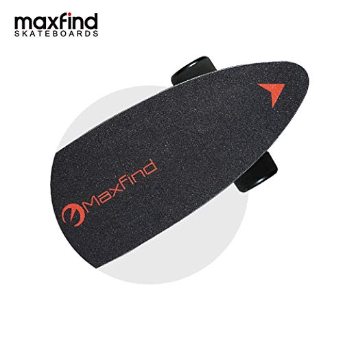 Maxfind 27' Waterproof Electric Skateboard, Light Motorized Board with Wireless Remote Control