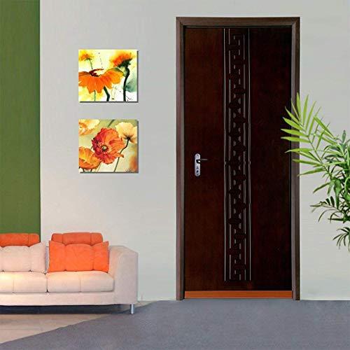 Burlete Puerta, XiDe 100 x 5cm Burlete Bajo Puerta Burlete Autoadhesivo de Goma de Silicona, Antipolvo Aislamiento Acústico Prueba De Viento y Agua - marrón