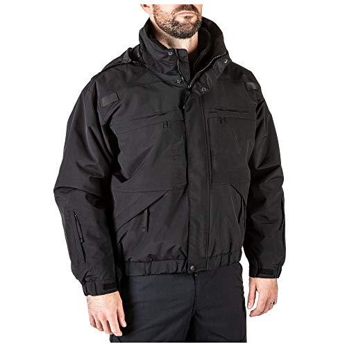 5.11 Tactical Blouson 5 en 1 Homme Noir FR : S (Taille Fabricant : S)