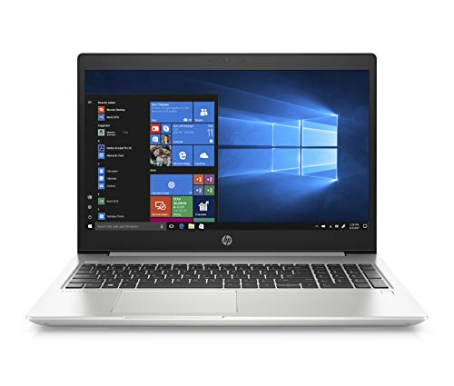 HP Probook 450 G6 (15,6 Zoll / FHD IPS) Business Laptop (Intel Core i5-8265U, 8GB DDR4 RAM, 1TB HDD, 128GB SSD, Intel UHD Grafik 620, Fingerabdruckleser, Windows 10 Professional) Silber