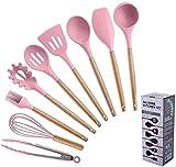 NKTJFUR Herramientas de cocina 9pcs Utensilios de cocina Conjunto...