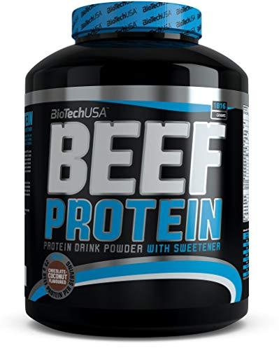 BioTechUSA Beef Protein, Strawberry, 1816 g
