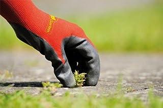 wolfgarten Polyester Blend Soil Care Garden Gloves (Red and Black, Medium)