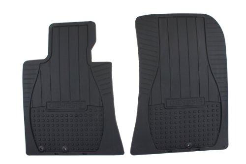 HYUNDAI Genuine Accessories U8130-3M101 Black All Weather Floor Mat Genesis