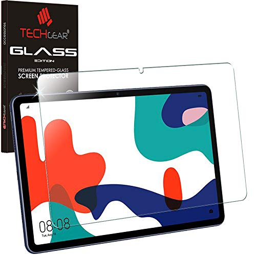 TECHGEAR GLASS Edition Screen Protector for Huawei MatePad 10.4, Genuine Tempered Glass Screen Protector [9H Toughness] [HD Clarity] [Scratch-Resistant] [No-Bubble]