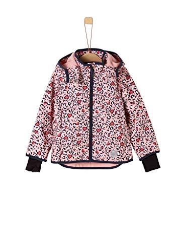 s.Oliver Mädchen 58.908.51.5096 Jacke, Mehrfarbig (Dusty Pink Multicolored 42s4), (Herstellergröße: 98)