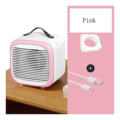 Climatizzatore Portatile Refrigeratori evaporativi USB Mini Refrigeratore ad aria portatile, multifunzione Aria condizionata Adatto per camera da letto Piccola ventola portatile (Colore: A) (Colore: B
