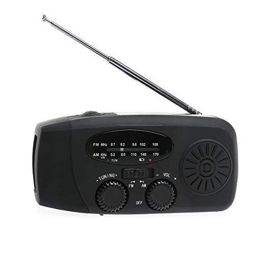 XiaoZou Altavoz inalámbrico Bluetooth portátil Radio FM