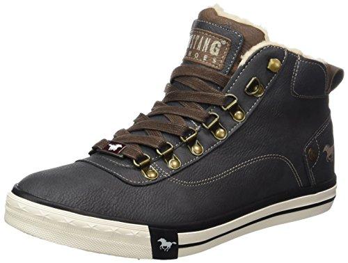 MUSTANG Unisex-Kinder 5024-604-259 Hohe Sneaker, Grau (Graphit), 33 EU
