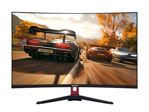 "YASHI Monitor Pioneer Gaming 27"" Curved, Ips, 1920x1080, 1 ms, 350 cd/m^2, 3000:1, 144Hz, VGA, HDMI, DP, Speakers"