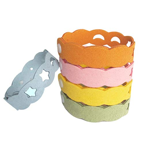 Mosquito Repellent Bracelet Travel Repellent Wristbands Soft Adjustable Insect Repellent Bands for Camping Hiking Sports