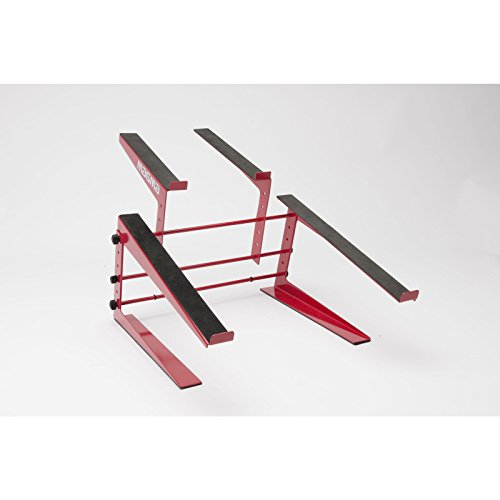Magma Control Stand DJ Controller and Laptop Stand - Red (MGA75542)