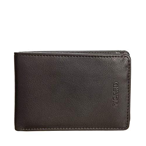 Picard Billfold S Horizontal 4 Credit Card Slots Brooklyn Cuero Small 7 x 10 x 2 cm (H/B/T) Hombre Carteras (8613)