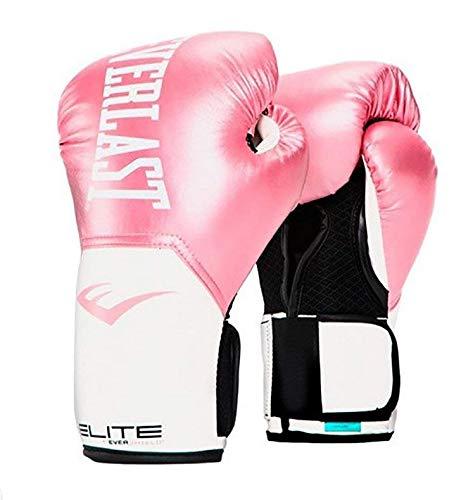 Everlast - Pro Style - Guantes de entrenamiento para mujer - P00001244, 8 oz., Rosado/Blanco
