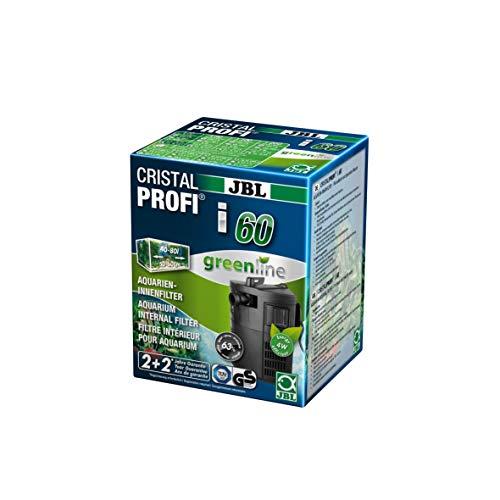 JBL CristalProfi i60 greenline - Filtro interno con consumo reducido de energía para acuarios de 40 a 80 l