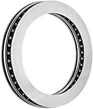 AXK2035 2AS Thrust Needle Roller Bearings with Bearing washers, Inner Diameter 20 mm, Outer Diameter 35 mm, Total Thickness 4 mm
