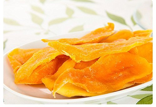 4 Pound (1816 grams) Dried peeled mango slices Grade A from Yunnan (云南芒果干片)