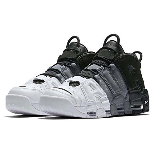 """Nike Air More Uptempo """"Olympics"""" - 414962 104, (nero, grigio freddo, bianco.), 47 EU"""