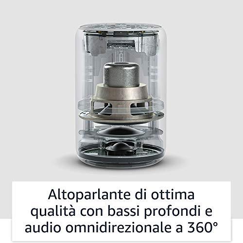 Echo Plus (2ª generazione) - Tessuto antracite + Philips Hue White Lampadina