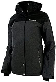 Columbia Women's Snowshoe Mountain Omni Heat Waterproof Hooded Ski Jacket