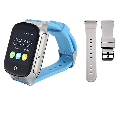 Check Out This KKBEAR (Give Replaceable Strap) 3G GPS Watch for Kids Elderly,WiFi Phone Call, Real-t...