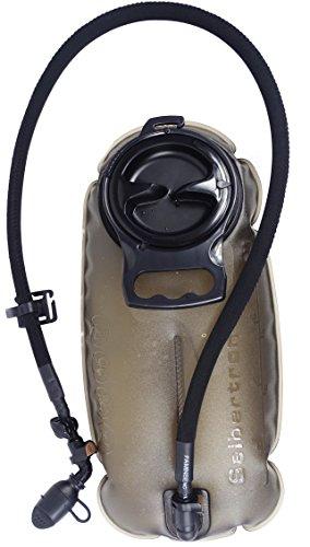 Seibertron Wasserbehälter 2.5 Liter Einfachste Reinigen Langlebig Trinkblase Wasserblase Sport Wasser Blasen Hydration Bladder Trinkbeutel Wassertank für Freien Trinkrucksack Wasser Rucksack 2.5L