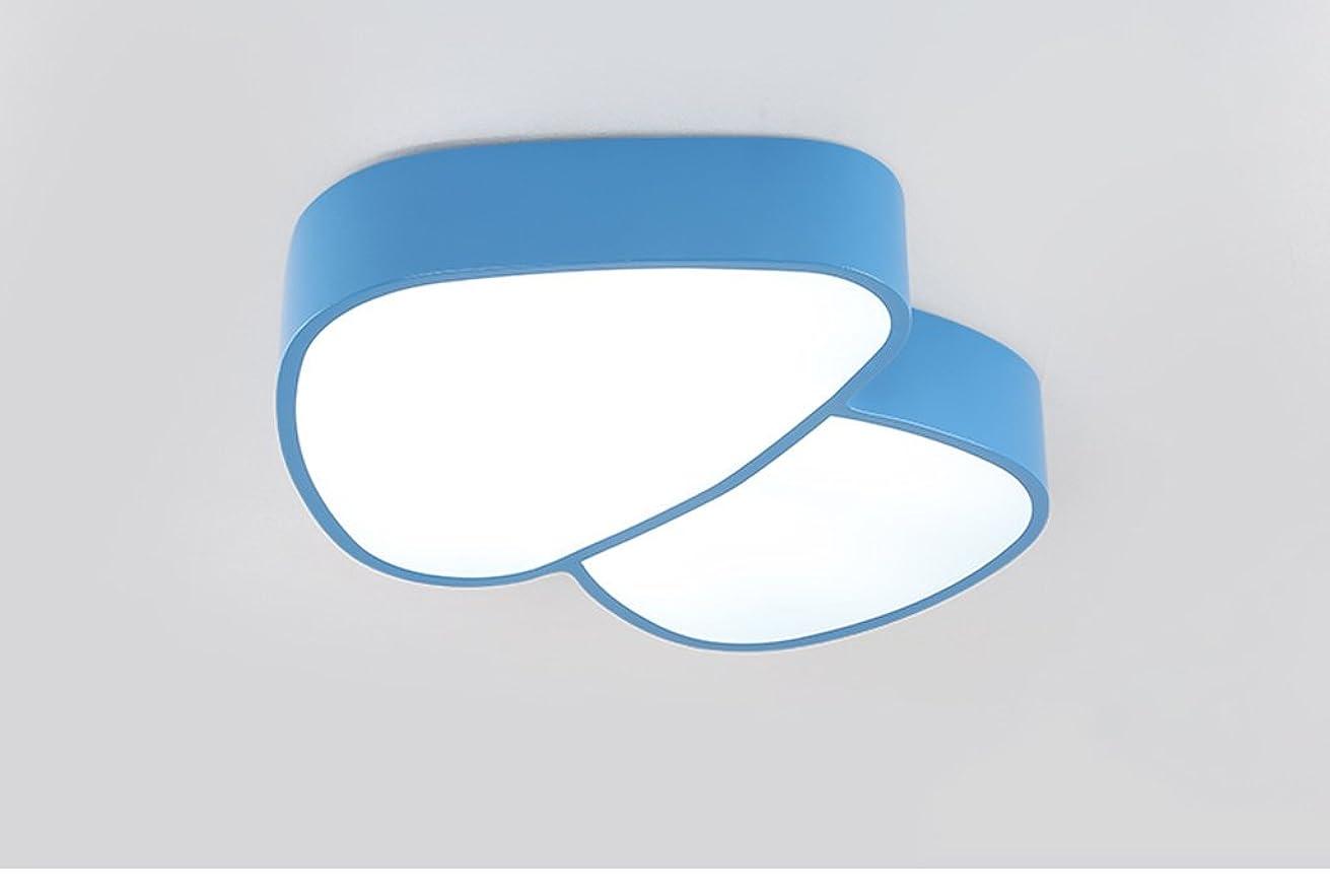 ピッチャー資本カートンYSYYSH 青い漫画キノコランプ創造的な子供のランプ暖かい寝室ランプLed幼稚園男の子と女の子の天井ランプ 寝室の装飾ライト