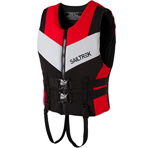 Adulti Nuoto Giubbotti Uomo Donna Nuoto Gilet Aiuti alla Galleggiabilità per Sport Acquatici Cinghia Inguinale Compatibile