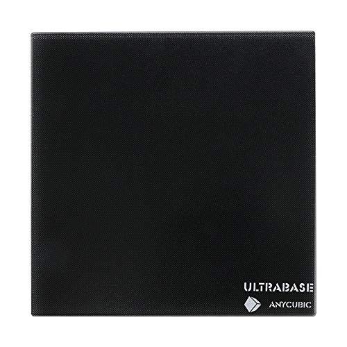 ANYCUBIC Ultrabase per stampanti 3D con rivestimento microporoso su piastra di vetro per stampe di grandi dimensioni 310 x 310 mm