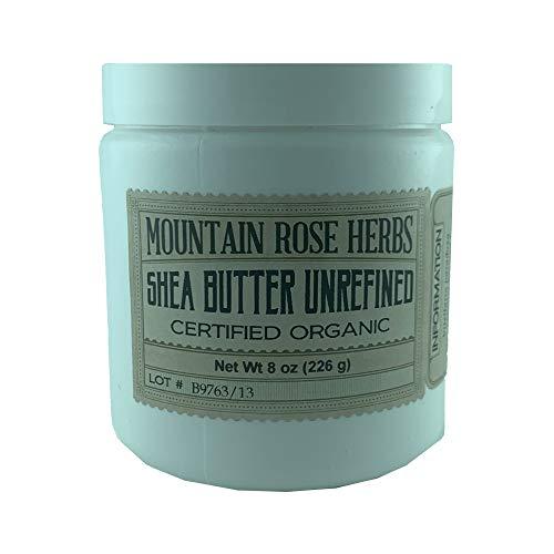 Mountain Rose Herbs Shea Butter Unrefined 8oz Certified Organic
